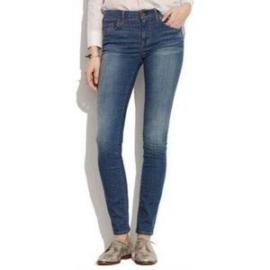 Madewell Skinny Skinny Jeans Denim Slim Size 26